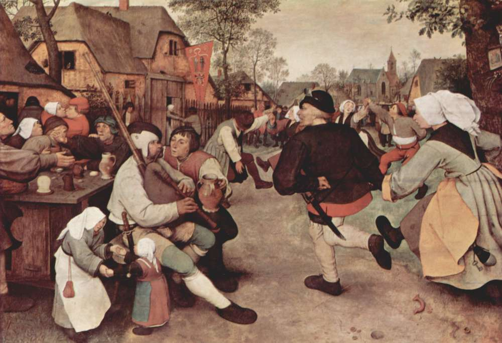 Bauerntanz (Pieter Brueghel, 16. Jahrhundert)
