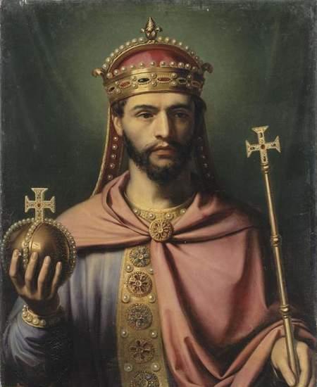 Ludwig der Fromme, Sohn Karls des Großen