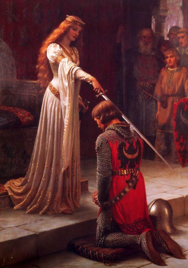 Der Ritterschlag (Edmund Blair, 1901)